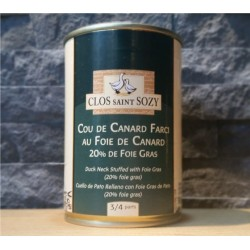 Cou  farci au foie gras 380 g