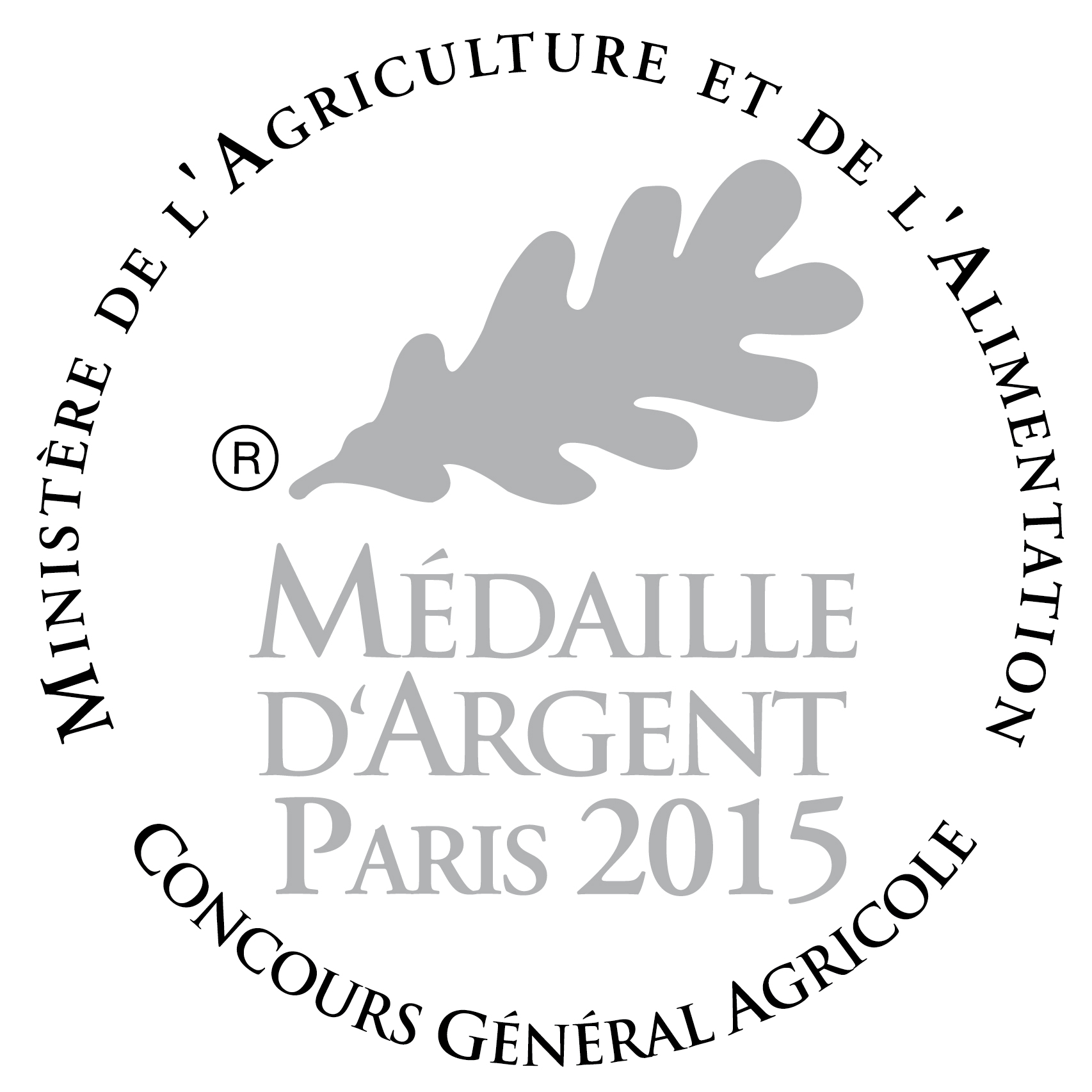 medaille argent Concours general agricole