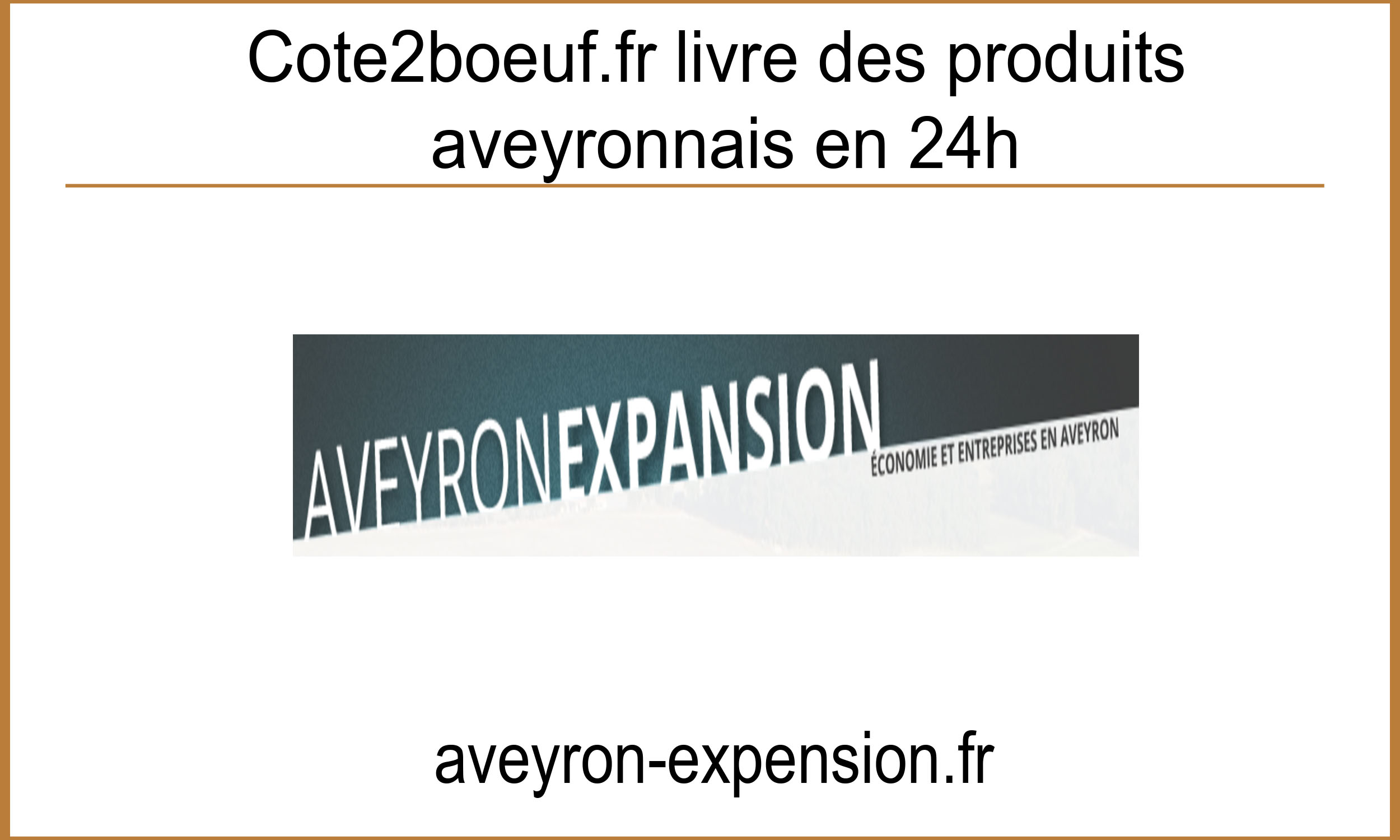 Article Aveyron Expension