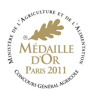 Medaille d'or paris 2011
