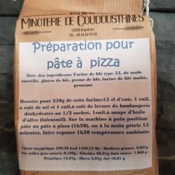 Préparation Pâte à pizza 1kg