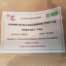 Farine bio T110 3kg