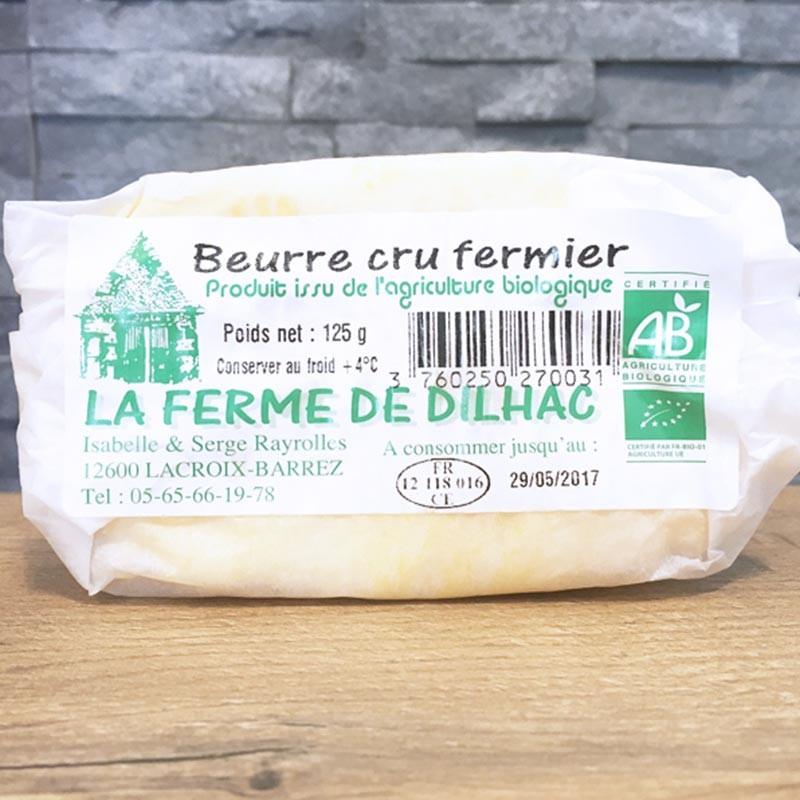 Beurre doux bio 125g