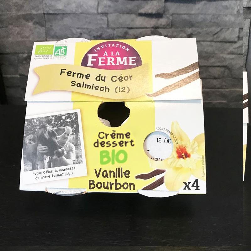 Creme dessert BIO Vanille