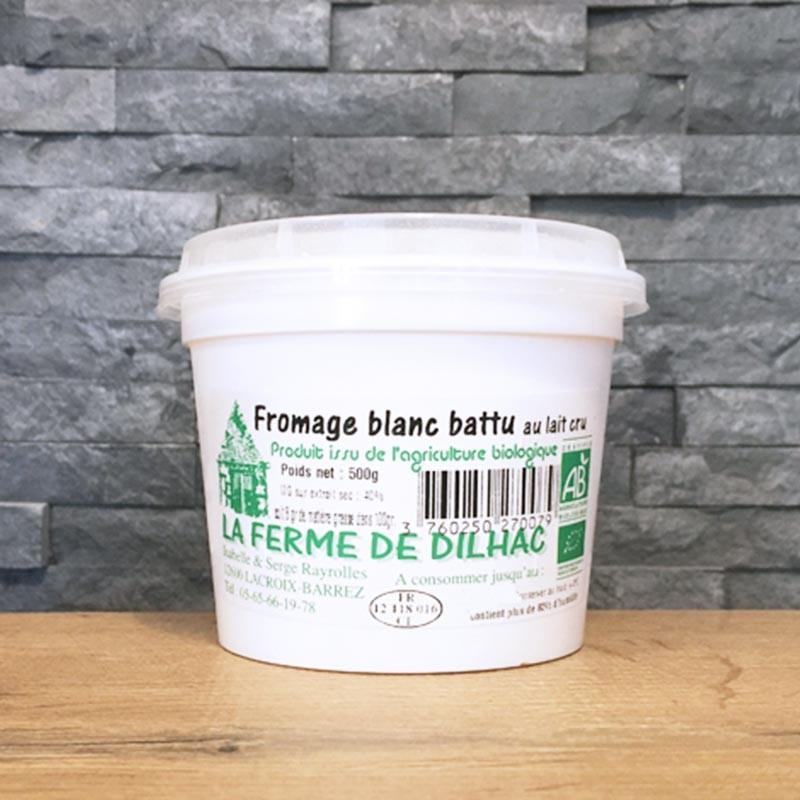 Fromage Blanc Battu Bio