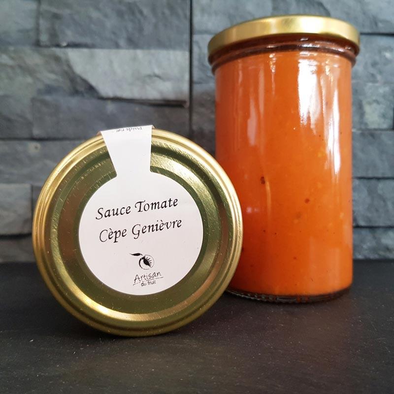 Sauce tomate cèpe genièvre