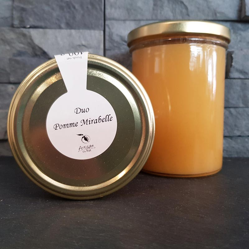 Duo pomme mirabelle