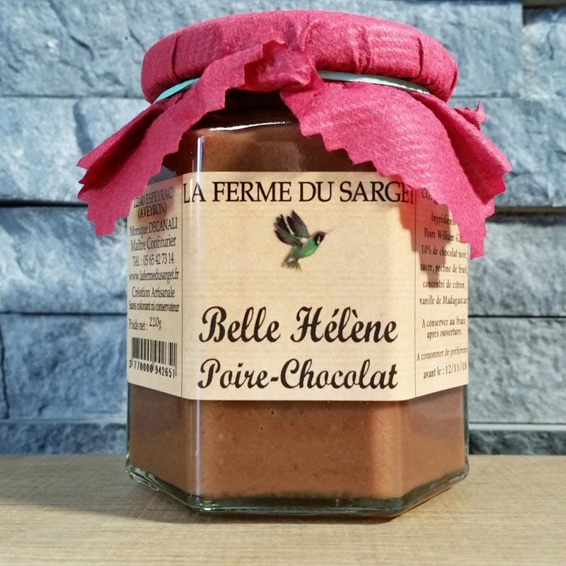 Poire chocolat Belle Hélène