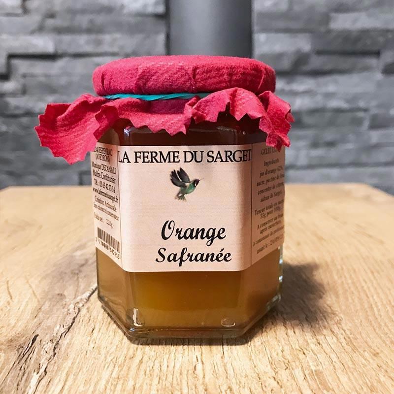 Gelée d'orange safranée