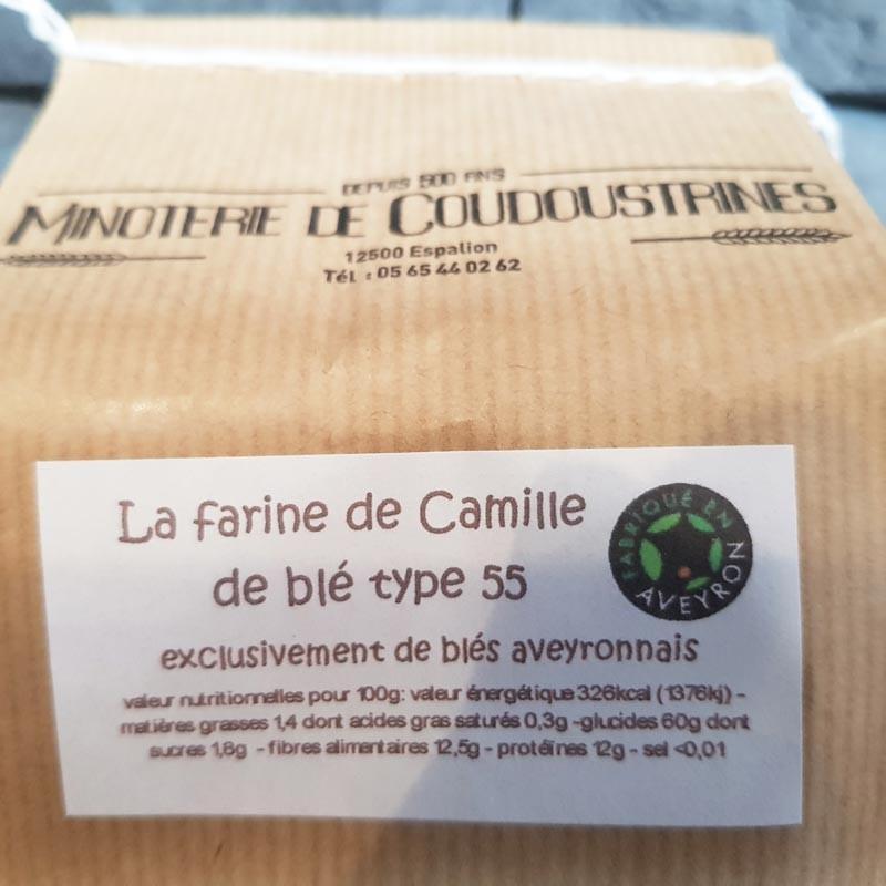 """Farine de blé de """"Camille"""" T55"""