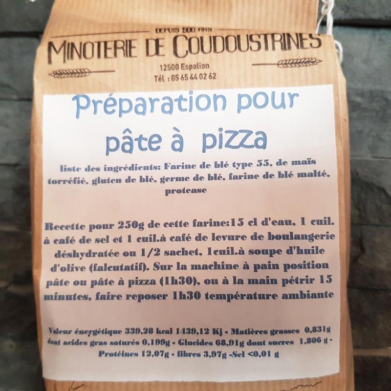 Préparation Pâte à pizza