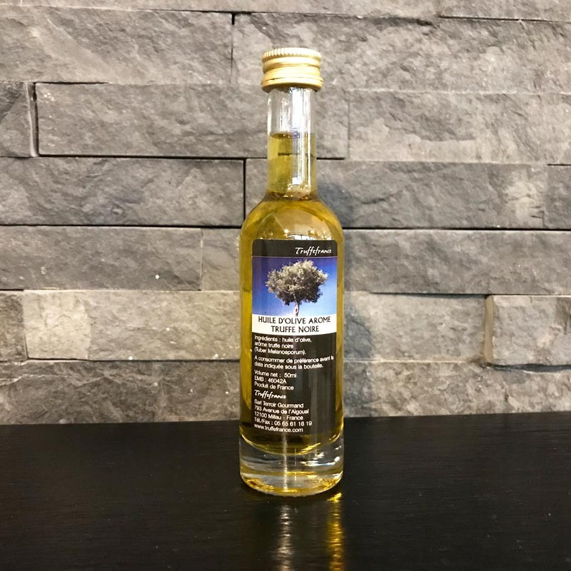 Huile d'olive arôme truffe noire 50ml