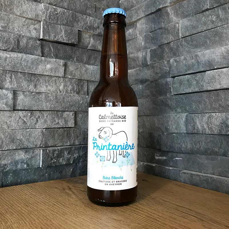 La Printanière, bière blanche bio