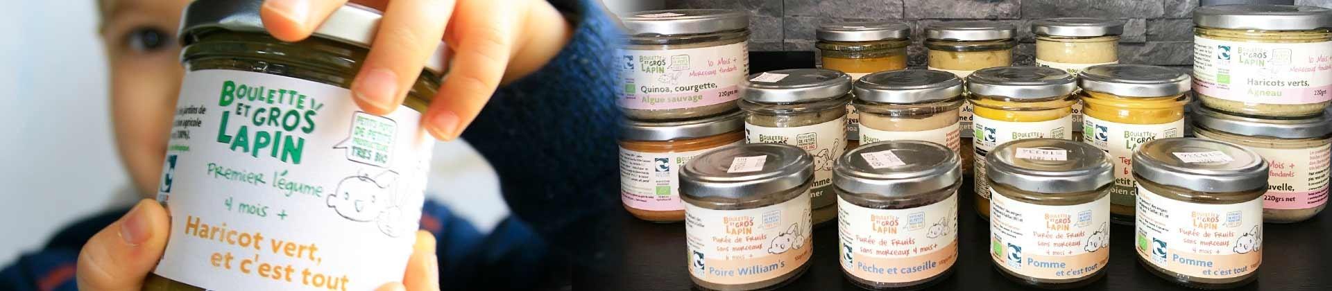 Petits Pots pour bébé Bio