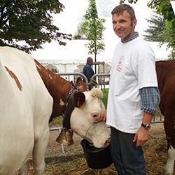 Michel et Alain, producteurs fermiers