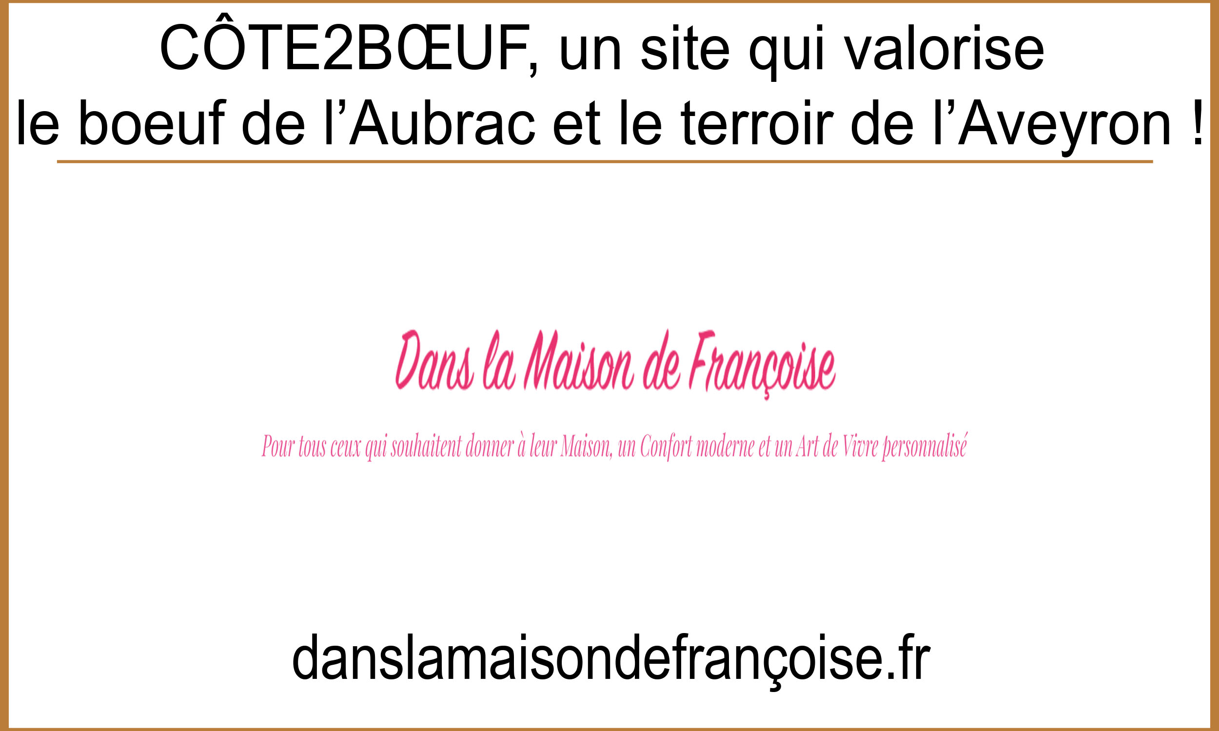 Article ds la maison de françoise