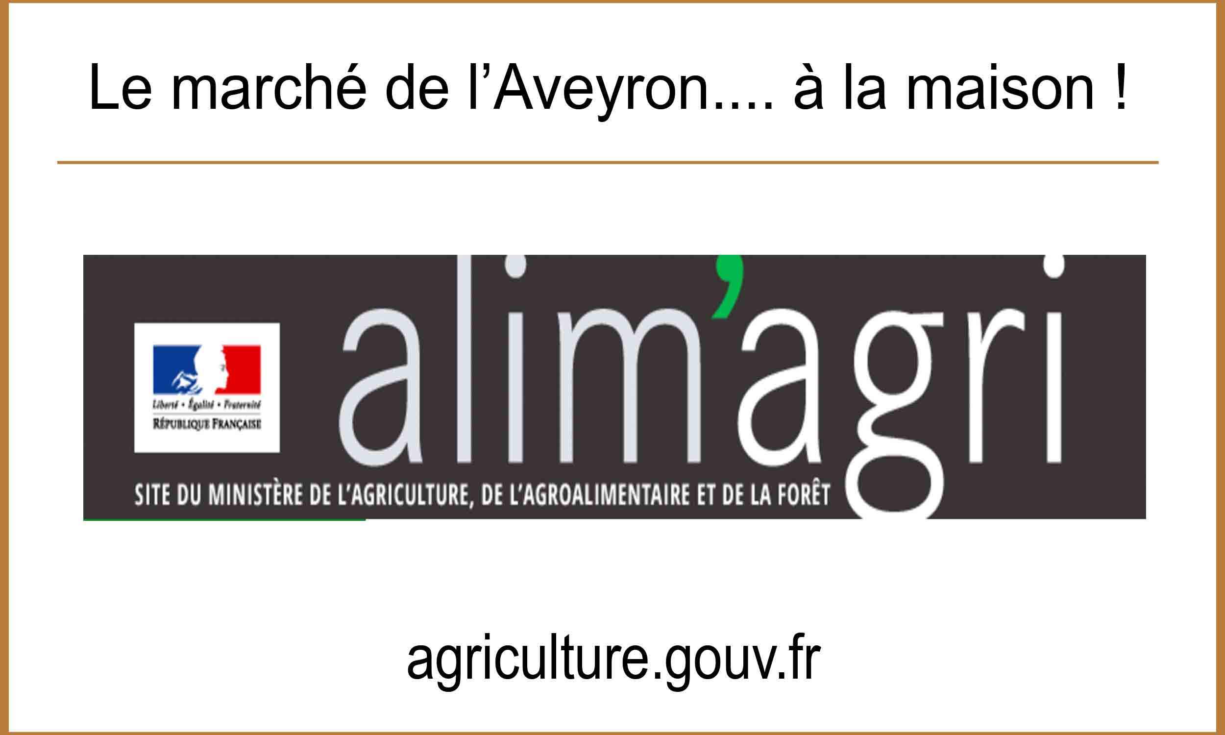 Agriculture gouv