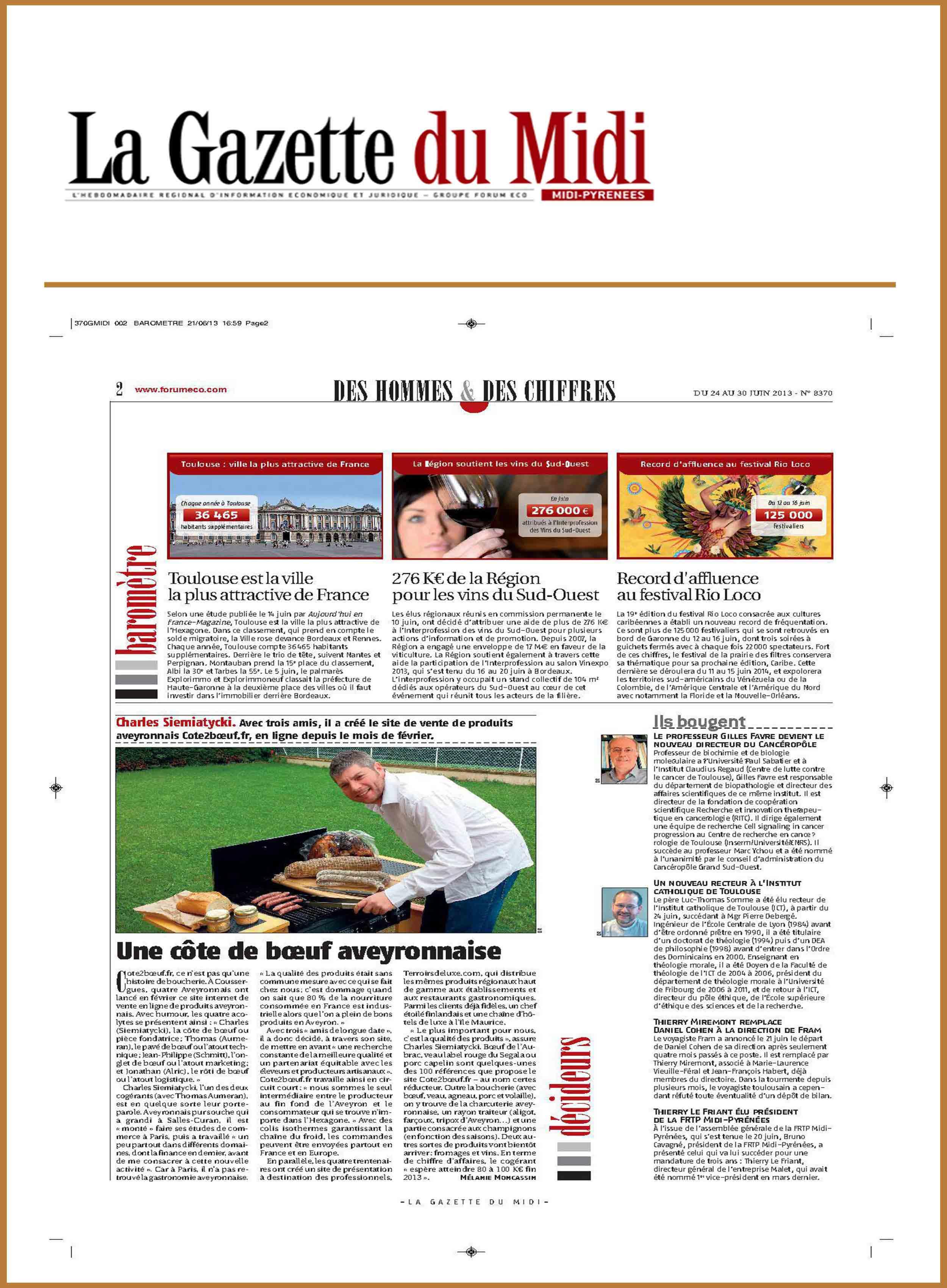 Gazette du midi